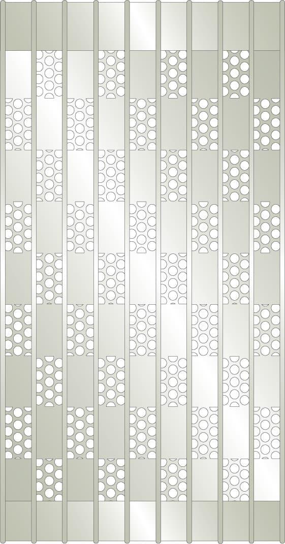 perforated ceiling grilles slim line series security grilles dynamic closures
