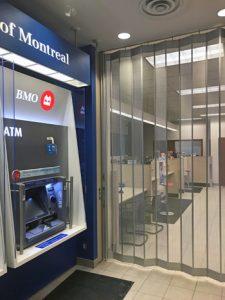 New Elite Paravent door installation for Bank of Montreal