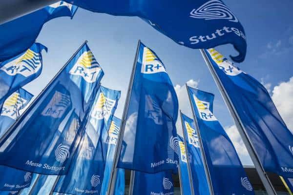 R+T Tradeshow 2018 Flags Messe Stuttgart