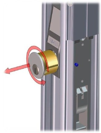 Changing Lock Cylinder 3