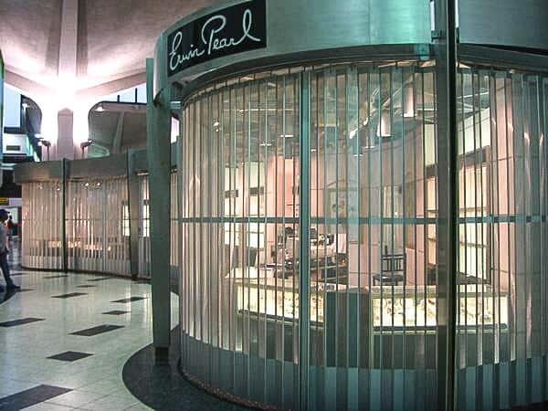 Custom Curve Retail Security Door