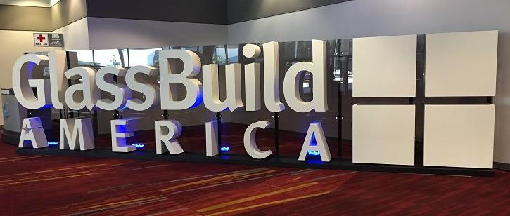 GlassBuild America 2016 Entrance
