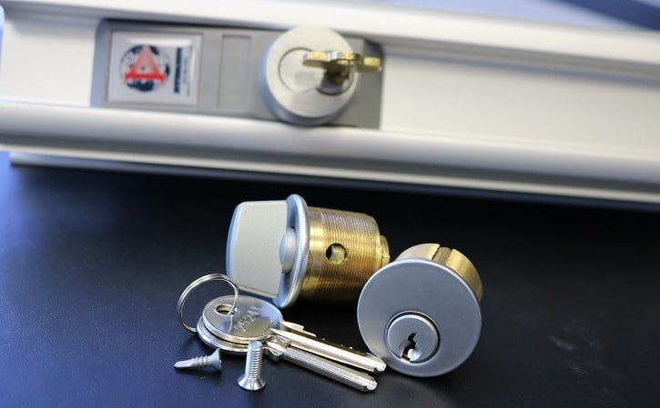 Security Door Lock Cylinder