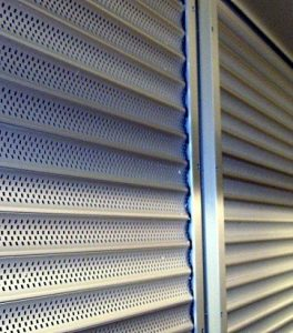 Mini roll up security shutter