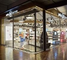 Airport Duty Free Side Folding Doors