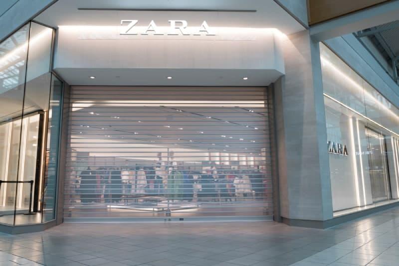Zara Montreal Closures