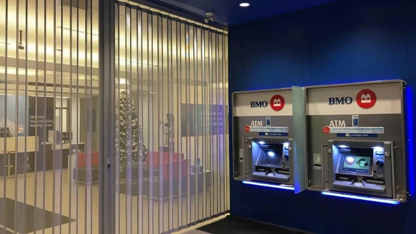 Bank of Montreal BMO Edmonton Alberta